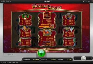 merkur world of circus online
